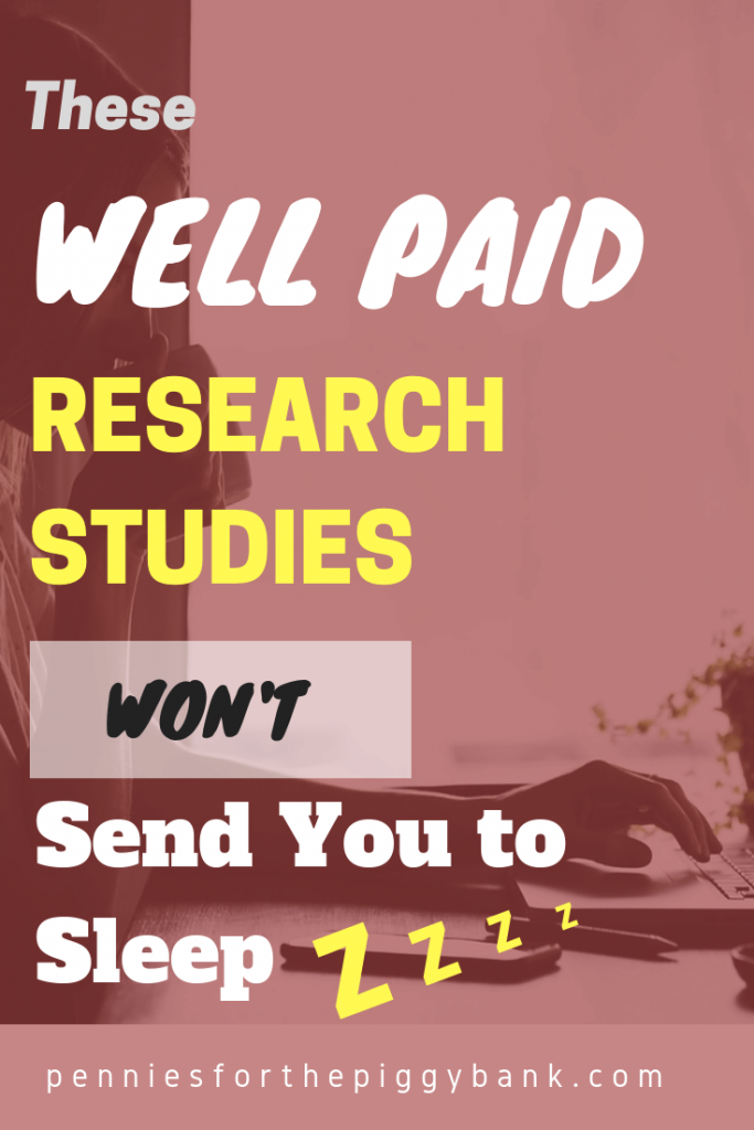 These Well Paid Research Studies Won't Send You To Sleep