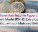 Nove,ber 2018 Income Report:How I Made £154.62 Extra Last Mont... withour Matched Betting