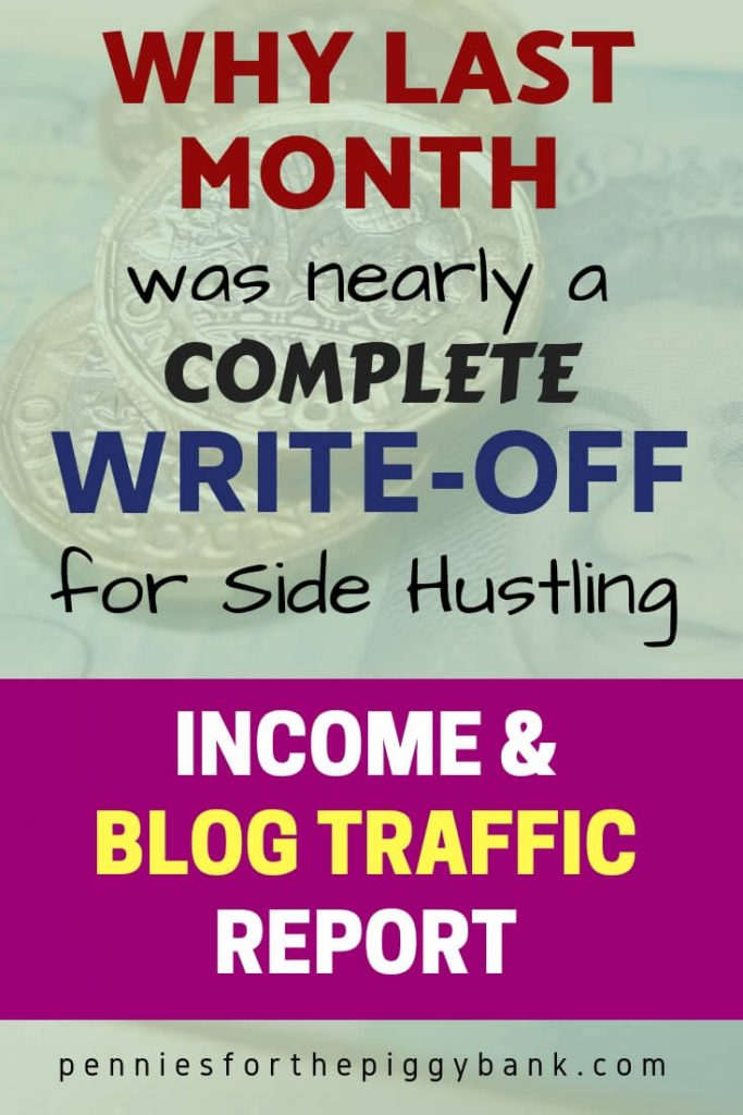 December Income & Blog Traffic Report: Why Last Month was Nearly a Complete Write-off for Side Hustling