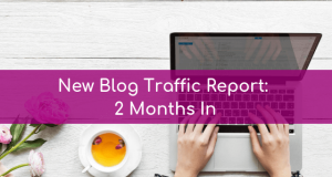 New Blog Traffic Report 2 Months In