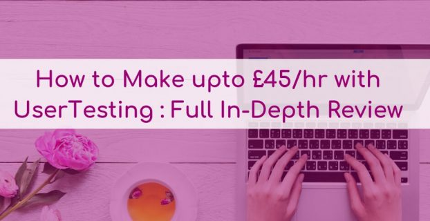 UserTesting Review: How to make upto £45 per hour website testing
