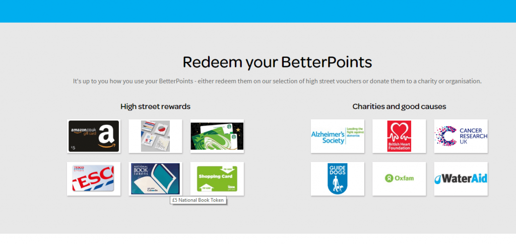 Better Points Rewards Screenshot