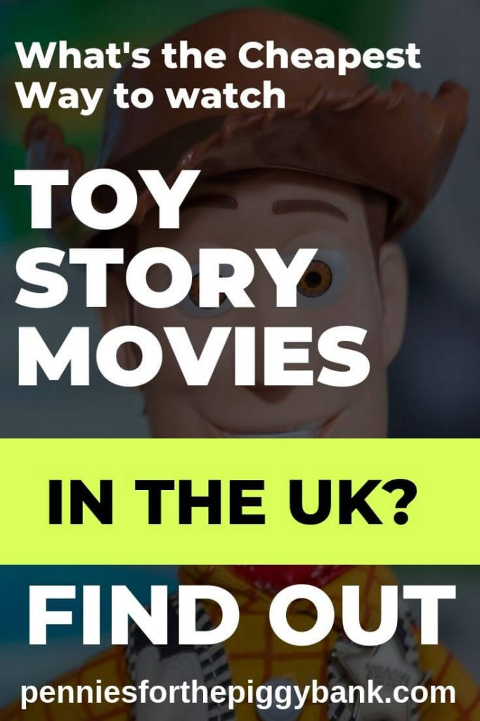 Cheapest Ways to Watch Toy Story in the UK Pin