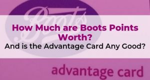How Much are Boots Points Worth. And is the Advantage Card Any Good