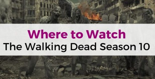 Where to Watch The Walking Dead Season 10 in the UK