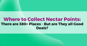 Where to Collect Nectar points